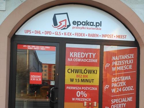 d9f288e0be819f EPAKA Kościerzyna: Punkt kurierski w Kościerzynie - Epaka.pl